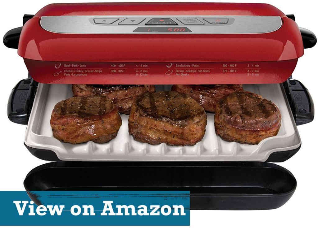 George Foreman GRP4800R 4-in-1 Multi-Plate Evolve Grill griddle
