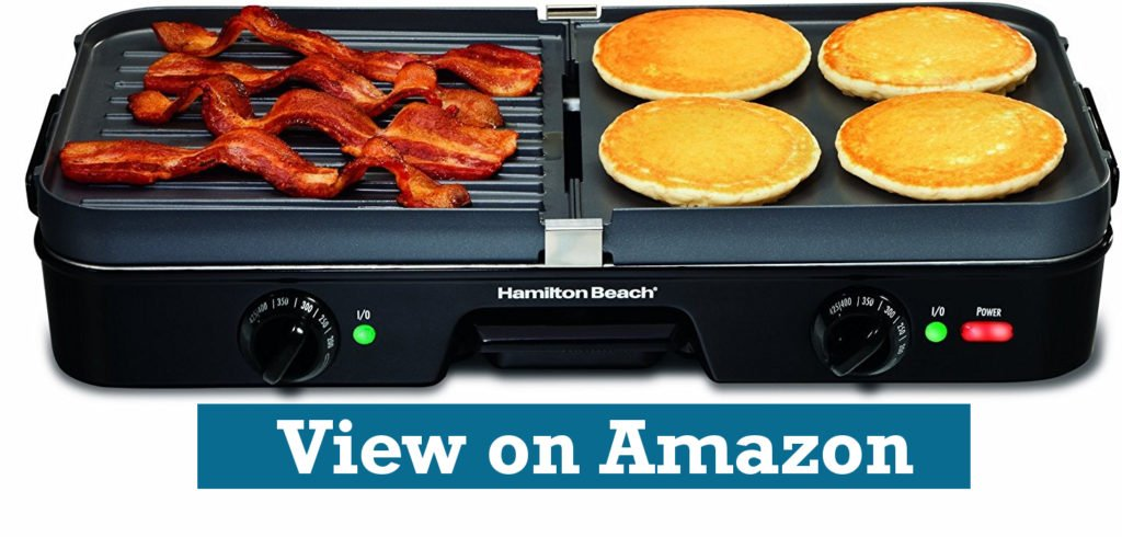 Hamilton Beach 38546 3-in-1 electric Grill & electric Griddle