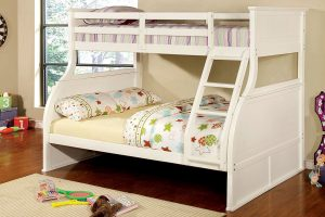 Furniture of America Brenna twin full bunk bed