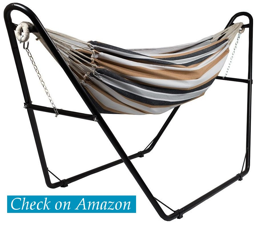 5  sunnydaze universal multi use steel hammock with stand 5 best hammock stands 2018   in depth review  value for money   rh   daringabroad