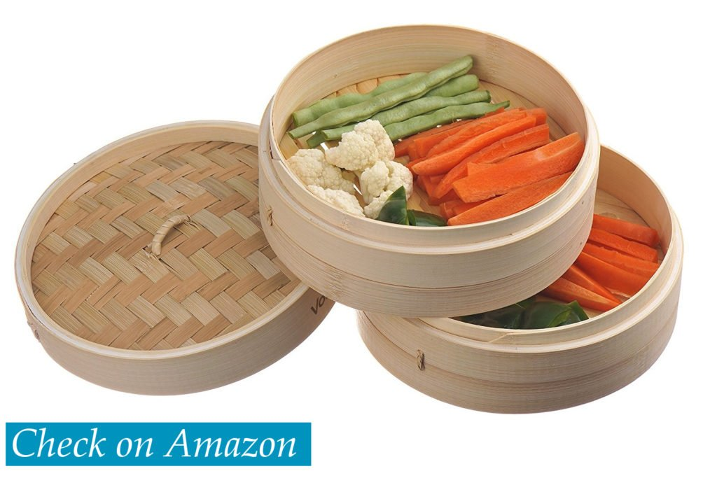 Bamboo vegetable steamer